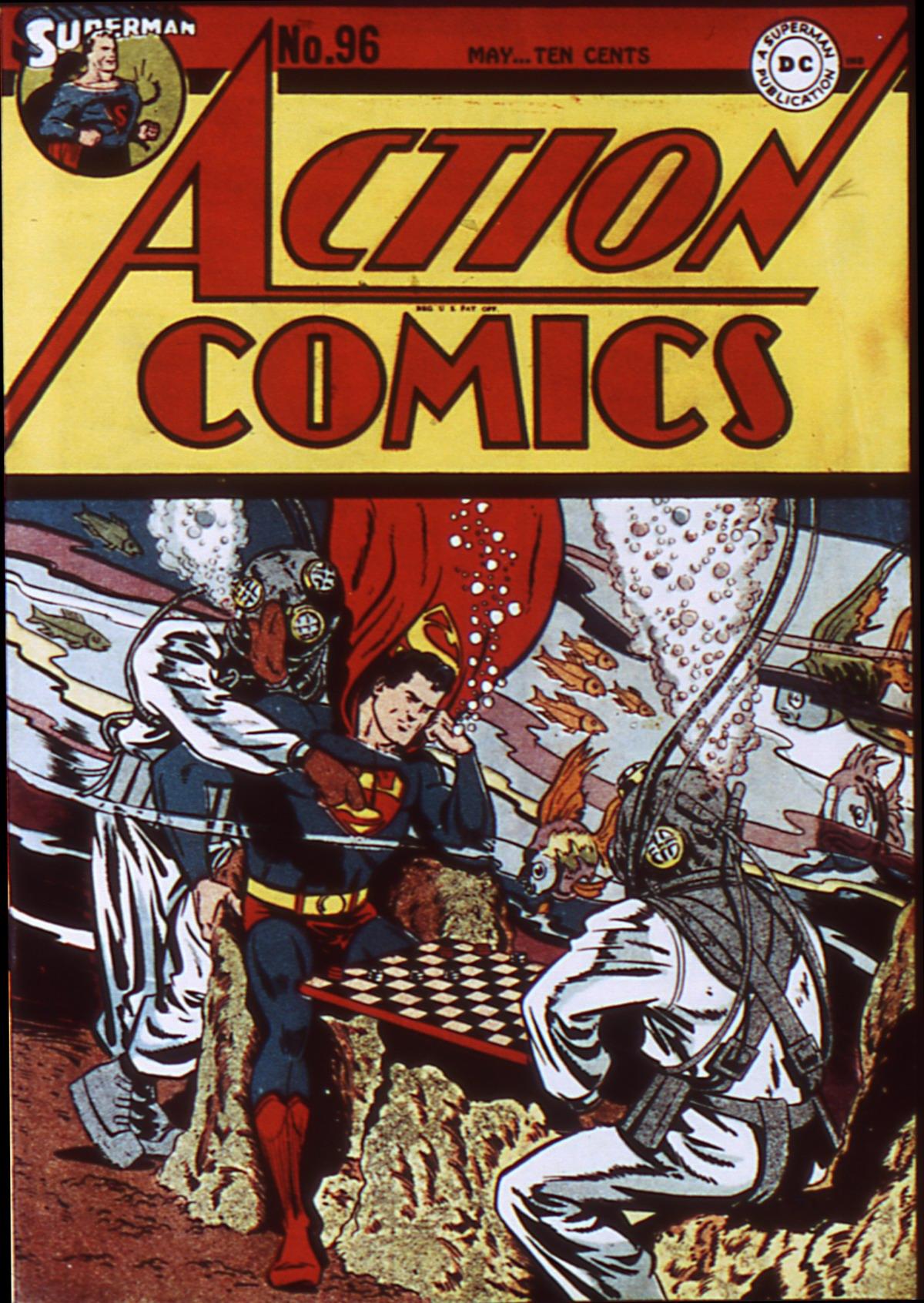 Action Comics (1938) 96 Page 1