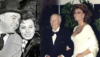 Carlo Ponti and Sophia Loren