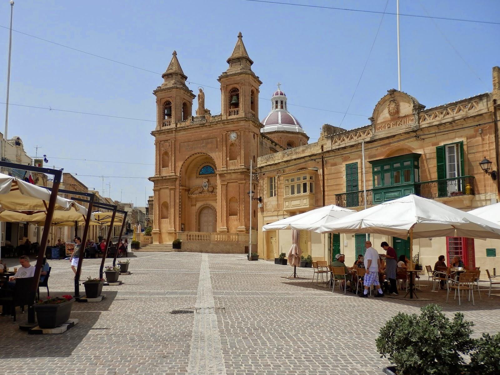 Church at Marsaxlokk, Malta
