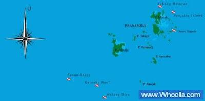 001+peta anambas+ +Whooila.com Foto/Gambar Pemandangan Indah dibawah Laut Pulau Anambas