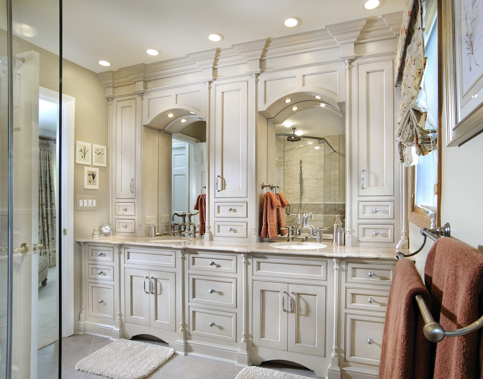 BATHROOM CABINETS DENVER, CUSTOM BATHROOM CABINETS