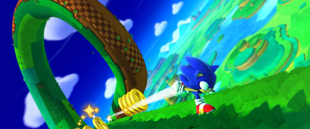 Sonic Lost World Desert Ruins & Silent Forest Gameplay