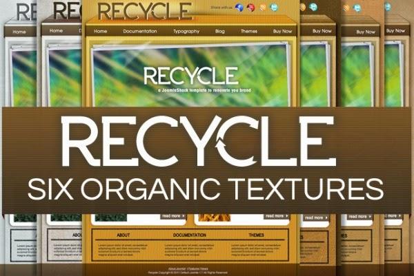 Recycle - Free Joomla! Template