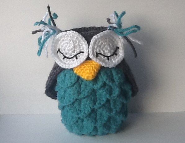 Crochet Patterns Free Owl : Craft Notes: Crocodile Stitch III: Crochet Owl