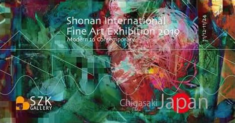 Shonan International Fine Art Exhibition 2019 - SZK gallery - Japan