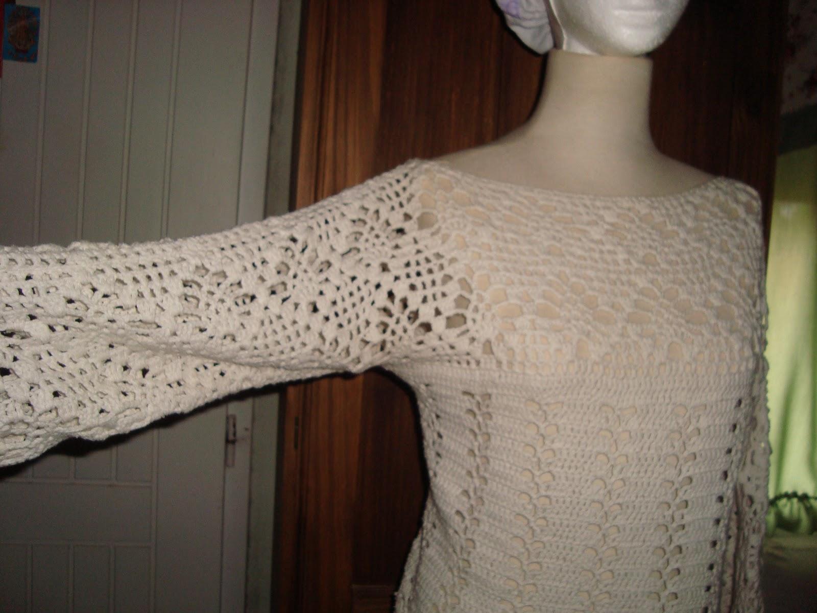 Graciela Tejidos Remera Calada Crochet | Review Ebooks