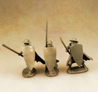 Fireforge Games Teutonic Infantry, Sergeants