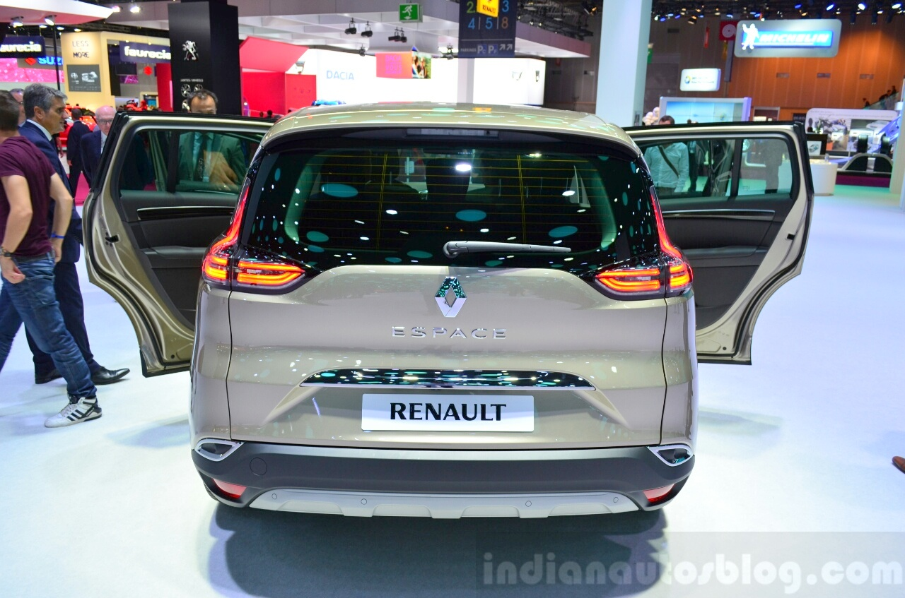canada autocar 2015 renault espace specs features. Black Bedroom Furniture Sets. Home Design Ideas