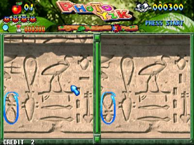 街機大型機台電玩遊戲-大家來找碴(超級比一比)+作弊碼(金手指),一起找出兩邊圖片不同的地方!