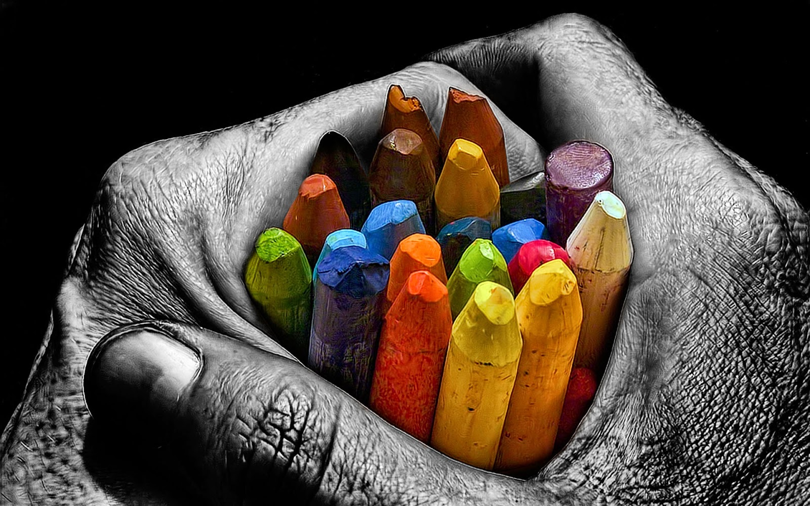 Colorfull in the Hand