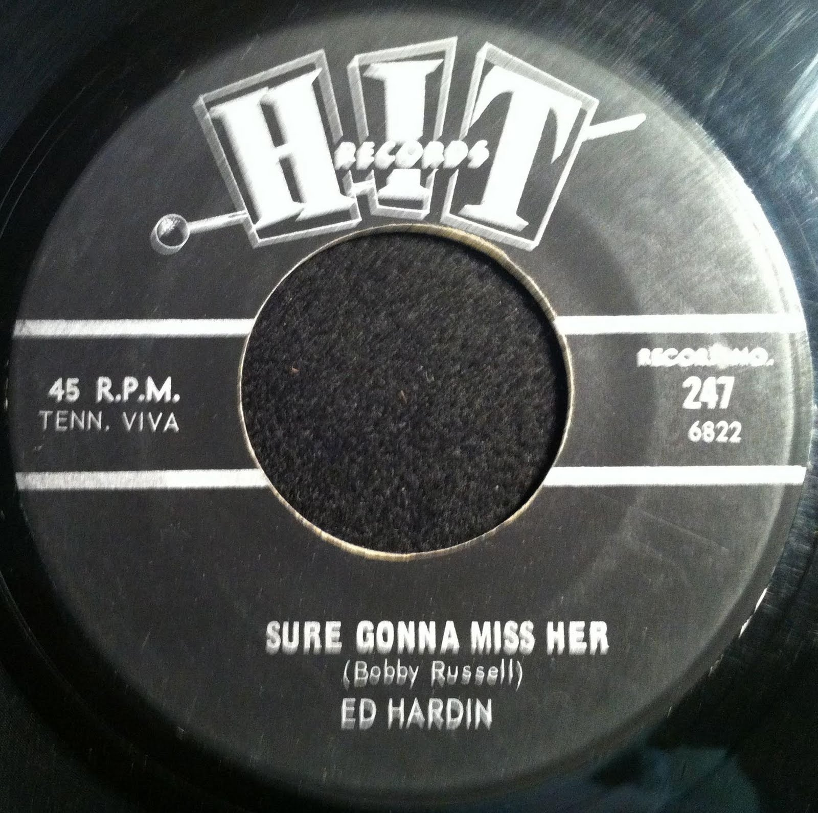 this time the record was credited to ed hardin but itus most likely bobby russell singing of course thereus a good chance buzz cason is on here as well