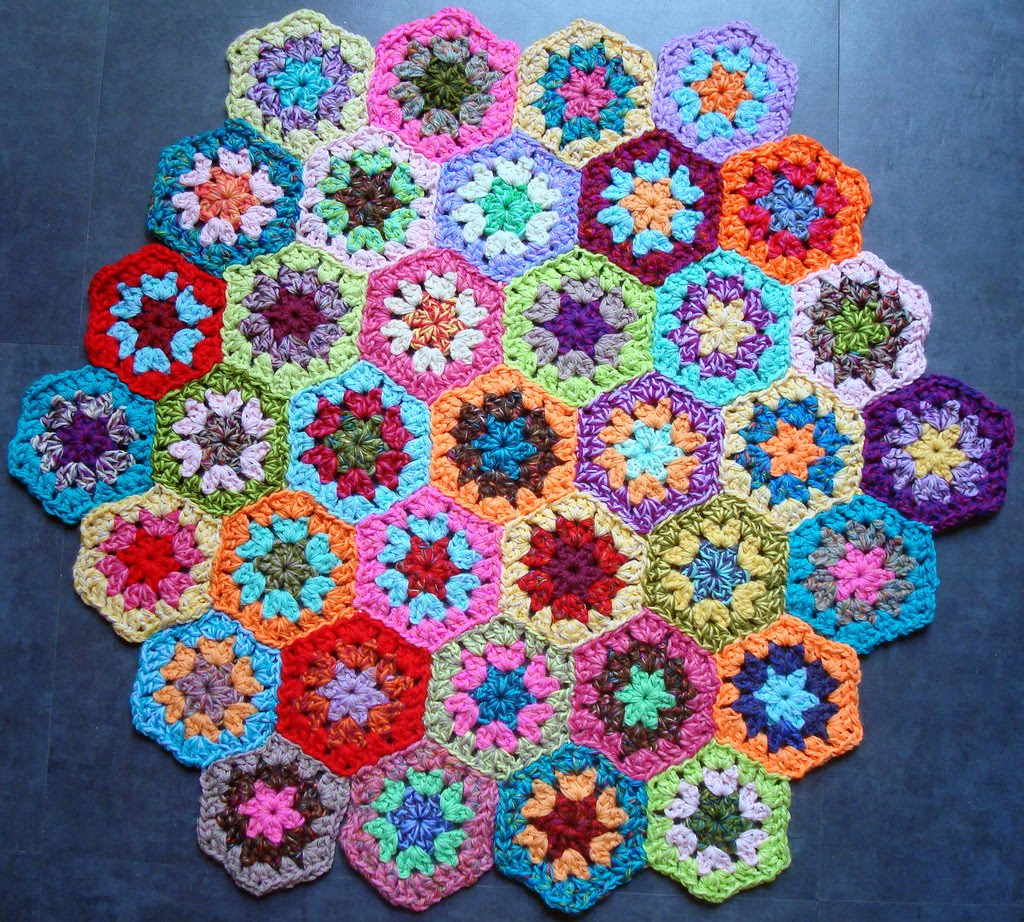 Knitting Patterns Free Granny Square Patterns