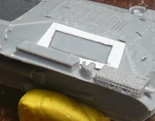 Lateral vent template (note cut out near the muffler)
