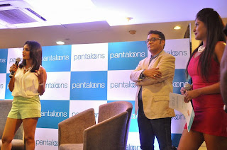 Priya Anand  Pictures in Shorts at Pantaloons Store Launch  34.jpg