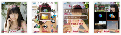 柏木由紀@AKB48 SonyEricsson手機主題for K630﹝176x220﹞