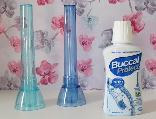 Sistema Higienizador, Escova Dental, Buccal Protect