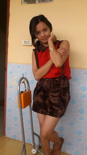 Srey Rath Kim Cute Wife On Facebook Sexy Red Dress Photo 4