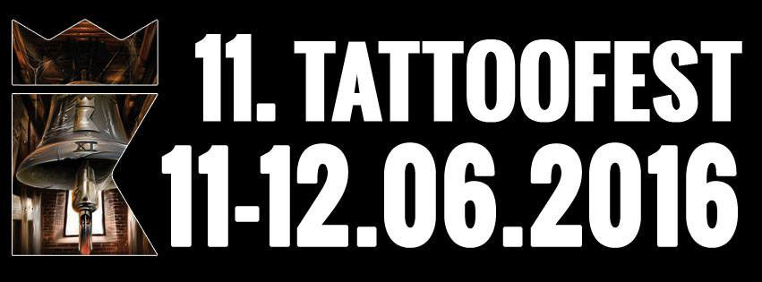 I'll be working at the TattooFest 2016