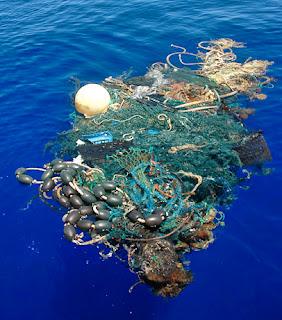 Sampah-sarap di Lautan Pasifik