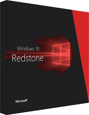 Microsoft Windows 10 Pro v1703 Build 15063 RedStone 2 poster box cover