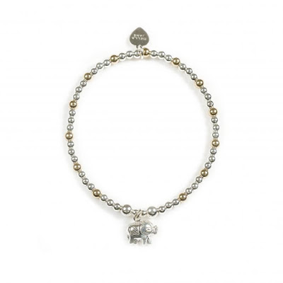 Bella Jane Jewellery Gold Silver Elephant Bracelet, My Midlife Fashion