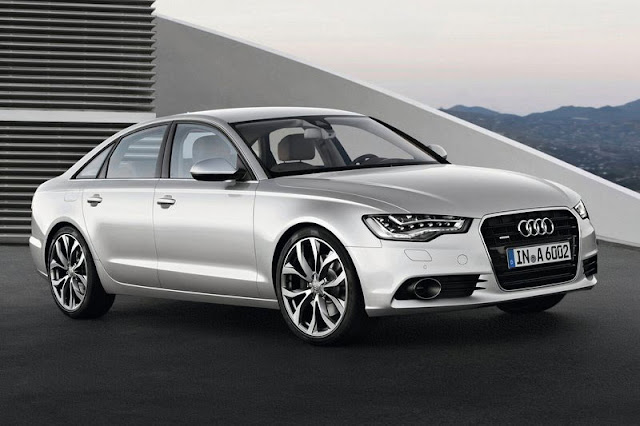 2012 Audi A6 Saloon Front Exterior