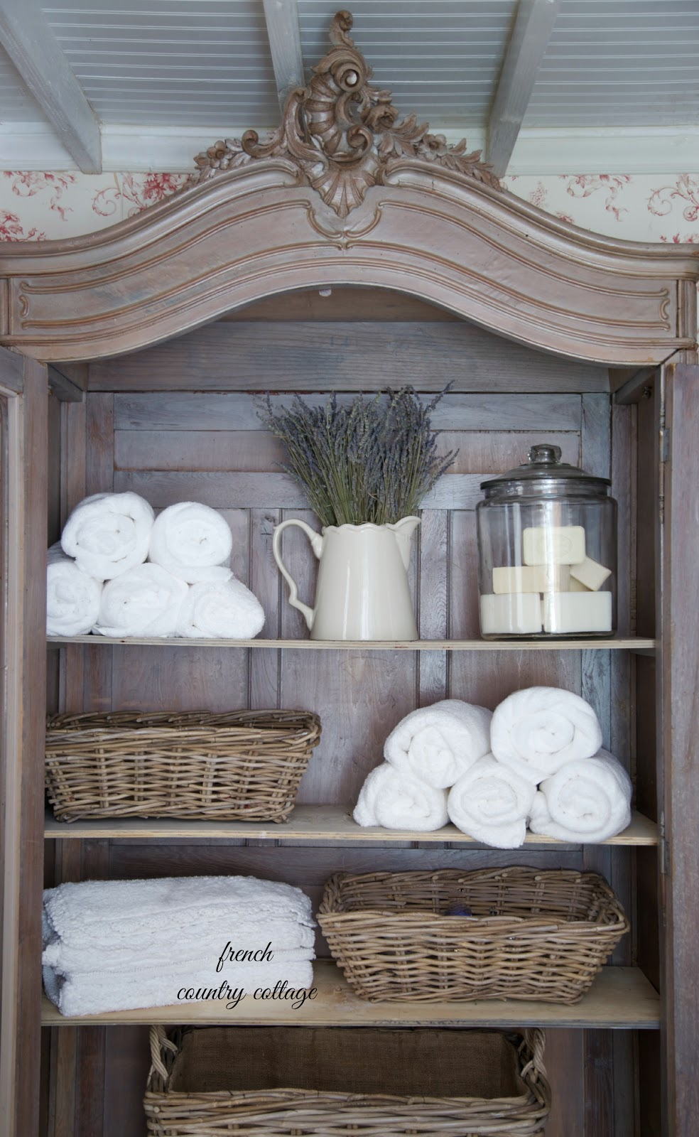 Crushing on baskets french country cottage for French country cottages