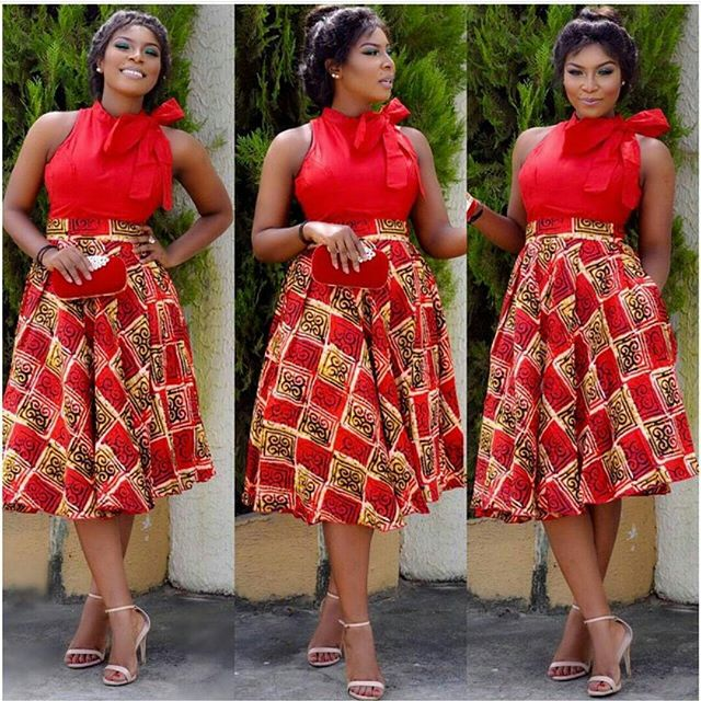 Welcome to Slamabit: Beautiful and Simple Ankara Gown Style