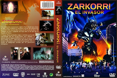 Carátula, Cover, Dvd: Zarkorr, el invasor | 1996 | Zarkorr! The Invader
