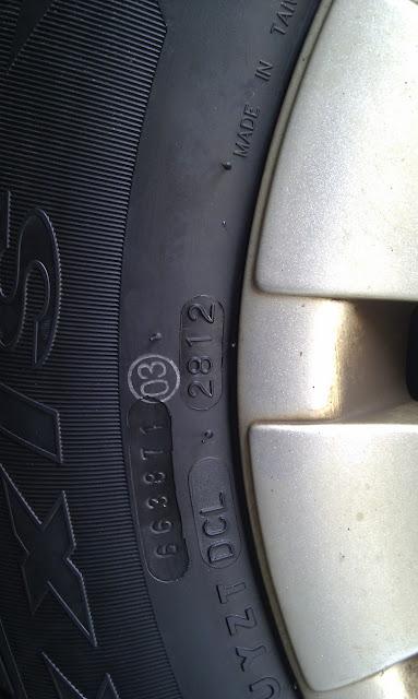 汽車輪胎的生產日期