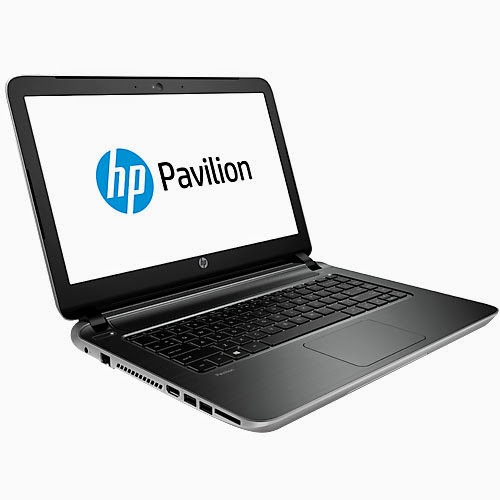 HP Pavilion 14z Touch natural silver