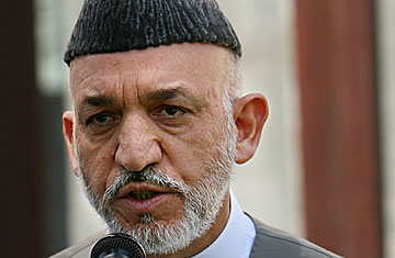 HAMID KARZAI, DOUBLE-FACED JANUS WILL FIGHT AGAINST USA?