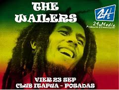 """THE WAILER """"La banda de BOB MARLEY"""" en POSADAS!! +Raíz +Santamontaña +Dj Matoh -VIER 23 SEPT 21hs"""