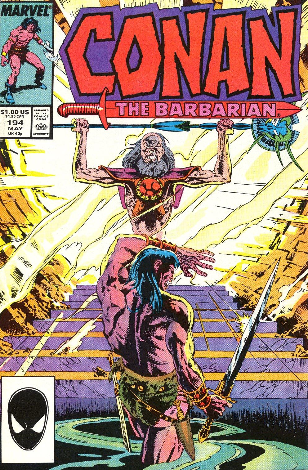 Conan the Barbarian (1970) Issue #194 #206 - English 1