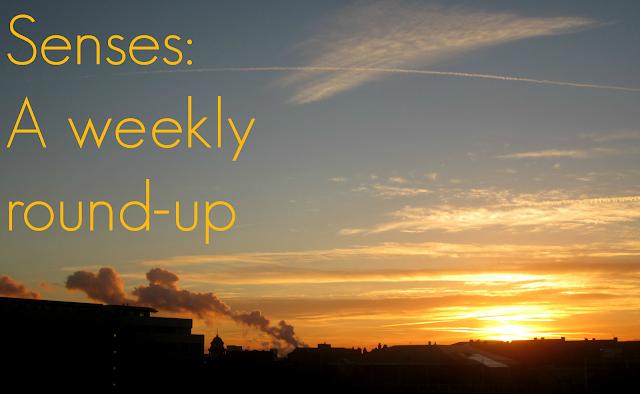 Senses, Weekly round-up, Golden Globes, tumblr