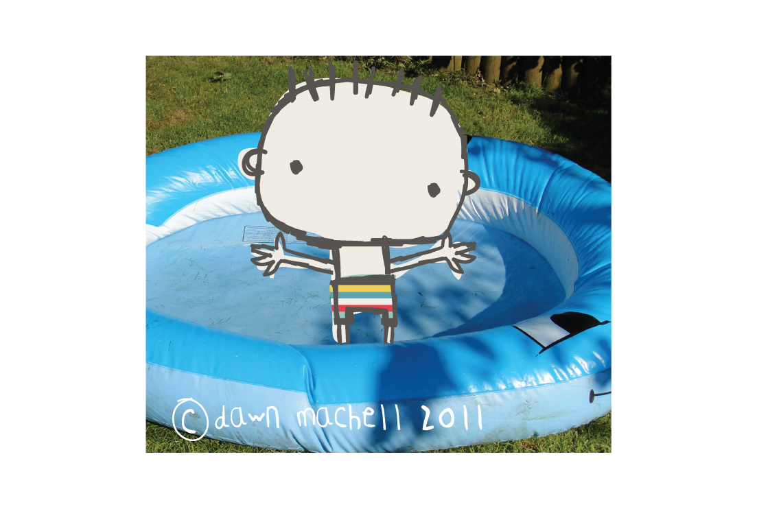 Pop i cok sunny sunny sunny for Pop up paddling pool