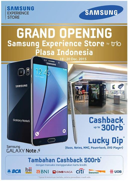 Grand Opening Samsung Experience Store Promo