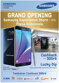 Promo Grand Opening Samsung Experience Store Plaza Indonesia