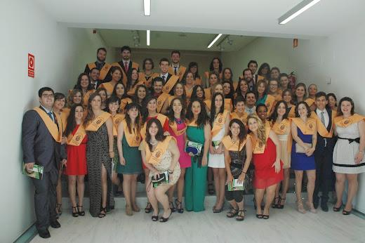 I Promoción Graduados en Trabajo Social. 2010-2014