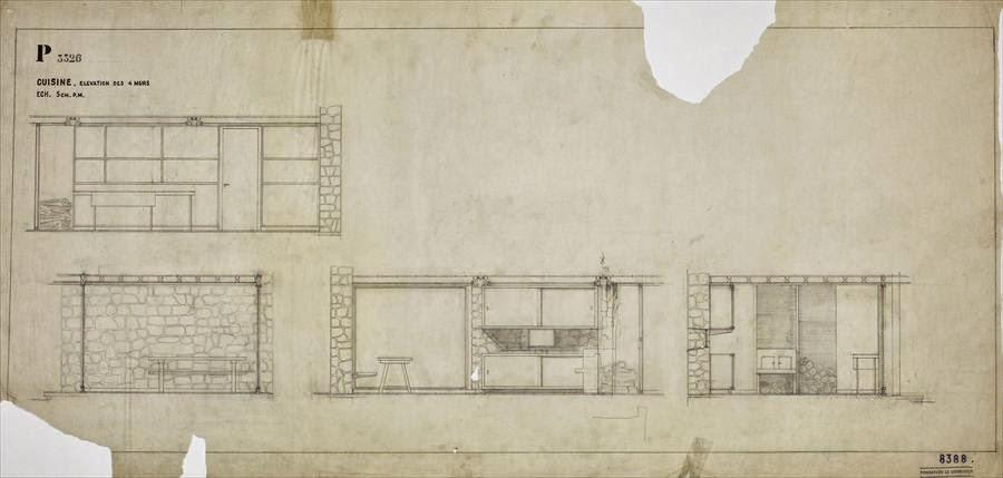 Le corbusier y el sextante charles edouard jeanneret le for Cocina definicion arquitectura