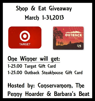 shopandeat Shop & Eat Giveaway! (March 1st   March 31st)