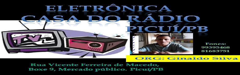 ELETRÔNICA CASA DO RÁDIO-PICUÍ/PB