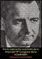 Klement Gottwald - Por la aplicación acertada de la línea del VIIº Congreso de la Komintern