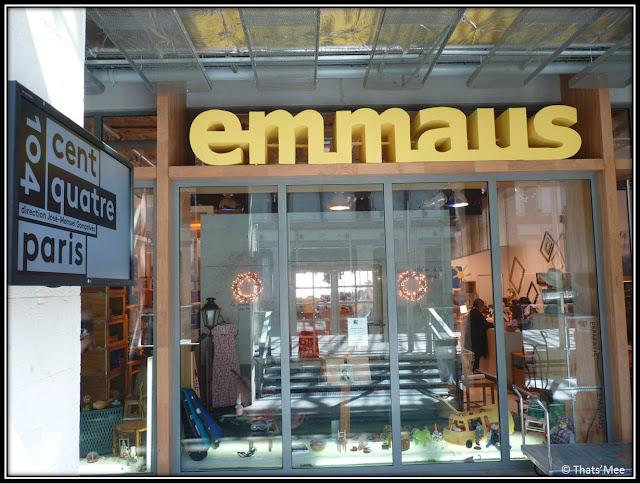 Boutique Emmaus 104 Paris