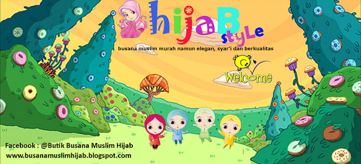 Busana Muslim Murah, Online, Hijab