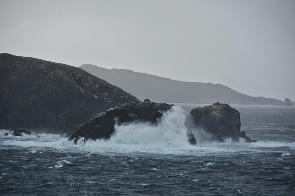 Cruising Cape Horn rocks