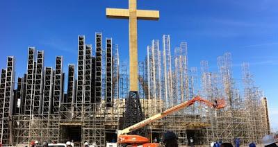 #JMJRio2013: Campus Fidei recebe os últimos preparativos para acolher o Papa