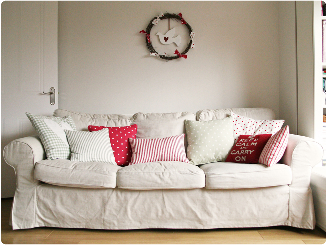 Countrykitty cushions mission completed - Fodere cuscini divano ...