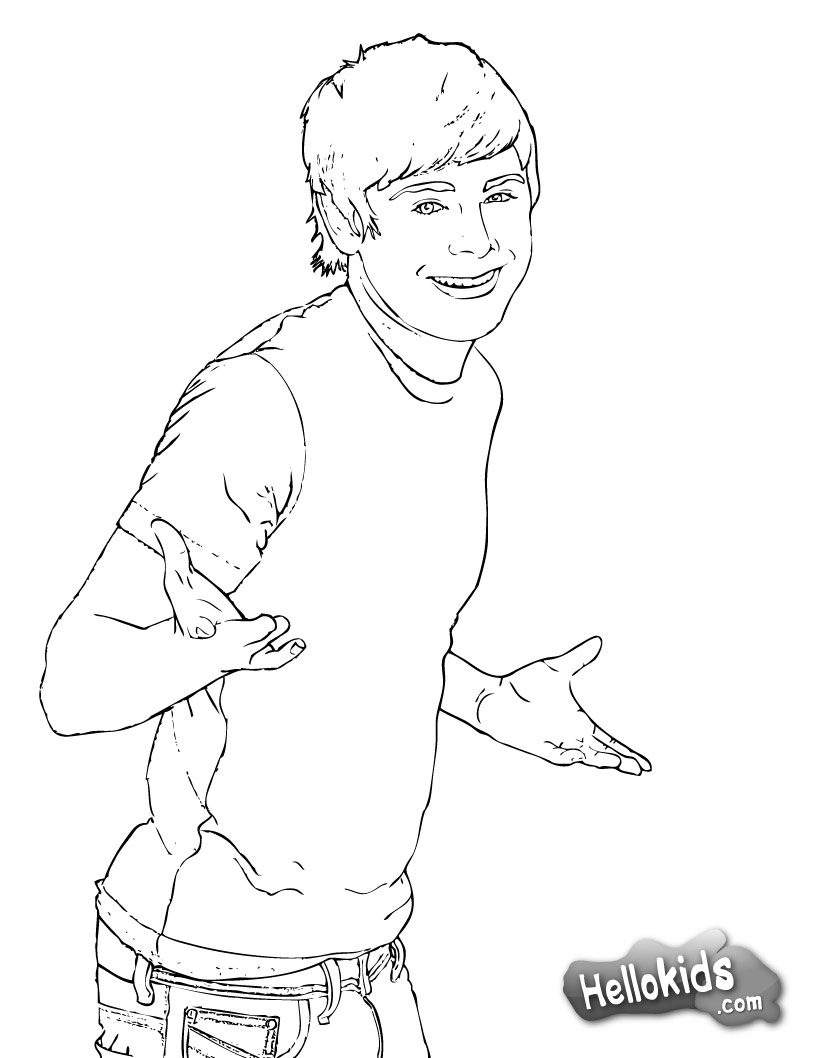 Coloring Pages Of High School Musical 3 ~ best ideas For Printable ...
