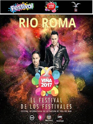 Festival Viña Rio Roma 2017 DVD Custom HDTV NTSC Latino